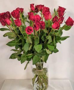 rozen boeket rood